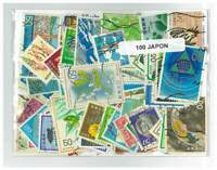 Japan Pack of 100 Different Stamps All Used in Bag