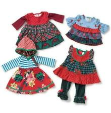 "NWT Matilda Jane MINI ME 18"" Doll Clothes Holiday Set Dress Tunic Pants 5 PCS"
