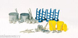 Preiser 31020 Zurüstsatz Umwelt- und Chemie, Bausatz, H0