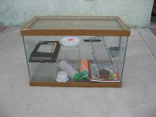 Terrarium Reptile Hamster Cage with extras