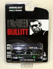 Greenlight 1/64 Scale 1968 Ford Mustang GT Green Steve McQueen Bullitt Chase Car