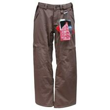 Oakley Minute Pants Womens S Small Dark Brown Snow Ski Nirto Fuel Waterproof