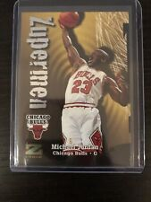 1997-98 SkyBox Z Force Zupermen Michael Jordan #190 Chicago Bulls HOF
