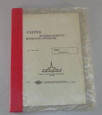 Ergänzung zur Betriebsanleitung / Werkstatthandbuch LKW Csepel Typ 510 J1-10.0