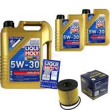 INSPEKTIONSKIT FILTER LIQUI MOLY ÖL 7L 5W-30 für Nissan X-Trail T30 2.2 dCi 4x4