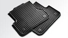Original Audi Gummifußmatten für A4 hinten, schwarz 8K0061511  041