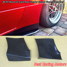 GF Style Rear Fender Corner Flare (Urethane) Fits 90-97 Mazda Miata