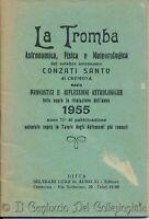 1955 La tromba astronomica fisica meteorologica Conzati Santo Cremona Lunario