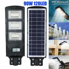 90W LED Solar Power Outdoor Street Light PIR Motion Sensor Outdoor Wall Lamp