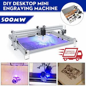 40X50CM DIY Logo Laser Engraving Machine 500mW Marking Wood Printer   NE