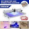 40X50CM DIY Logo Laser Engraving Machine 500mW Marking Wood Printer Engraver