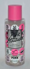 VICTORIA'S SECRET PINK ATTITUDE BODY MIST FRAGRANCE SPRAY COCONUT SILK 8.4OZ