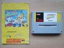 Super Nintendo - SNES - Street Racer - GAME + MANUAL