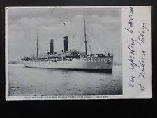 Union Castle Line ROYAL MAIL STEAMER Kenilworth Castle 12975 Tons c1920 Postcard