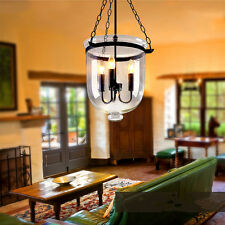 Glass Chandelier Lighting Kitchen Bedroom Modern Pendant Light Bar Ceiling Lamp