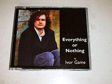 IVOR GAME - Everything or Nothing - 1998 UK 1-track CD Single