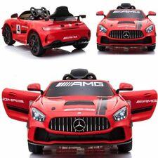 B-WARE Elektrisches Kinderauto Kinder Elektroauto Mercedes Benz GT4 AMG 12V/7Ah
