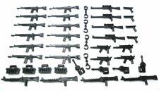 SLUBAN® 40- teiliges Waffen-Set in schwarz für Minifiguren.