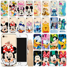 2018 Hot TPU Phone Case Cartoon Back Cover Ultrathin Soft Cute Transparent Clear