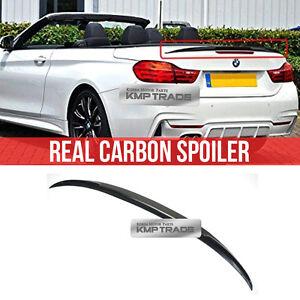 Real Carbon Fiber Rear Trunk Spoiler For BMW 2014+ 4Series F33 Convertible 2door