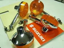 Brand New Set of 4 Indicator Winker Suzuki GS750 GS850 GS1000 GT750 B 1977
