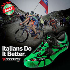 Vittoria Ikon Road bike Shoes Green Color (Size 40-Asian fit)