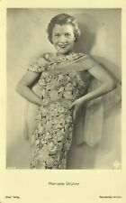 Renate Muller German Actress Movie Film Star 1930s Real Photo Postcard