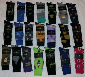 NEW Cut & Sew Marc Ecko Designer Graphic Print Dress Socks 21 Novelty Styles FUN