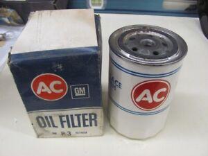 NOS 57 58 59 60 61 62 Studebaker Packard WHITE AC Oil Filter P3 5574639 1957