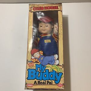 Hasbro 1986 My Buddy Rare Wink And Blink Brown Hair A Real Pal Plush Toy Doll