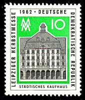 913 postfrisch DDR Briefmarke Stamp East Germany GDR Year Jahrgang 1962