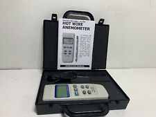 Hot Wire Anemometer Real Time Data Logger With Probe Hotwire