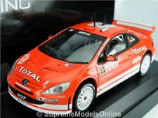 PEUGEOT 307 WRC 2004 RALLY MODEL CAR 1:43 SCALE SOLIDO 1589 GRONHOLM K8Q