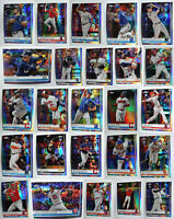 2019 Topps Chrome Prism Refractor Baseball Cards Complete Your Set U Pick 1-204