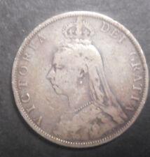 Great Britain 1889 Victoria  Florin   Silver Coin