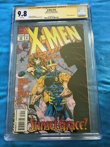 X-Men #35 - Marvel - CGC SS 9.8 NM/MT - Signed by Liam Sharp