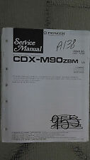 Pioneer cdx-m90 service manual original repair book stereo cd player