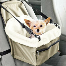 Pet Safety Car Seat Carrier Dog Cat Belt Folding Soft Booster Travel Belt Bag