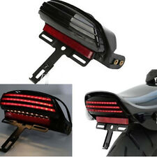 Fit Harley Softail Fat Boy 2007 2008 2009 2010 2011 LED Taillight Signal+Bracket