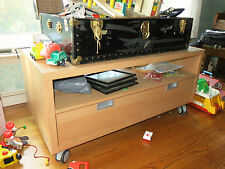 Ikea coffee table / TV stand.