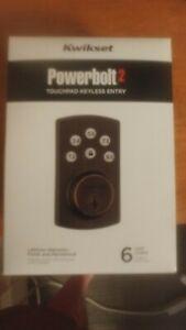 Kwikset 99070-103 Powerbolt Touchpad Keyless Entry new
