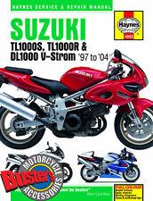 Genuine Haynes Workshop Manual 4083 Suzuki TL1000 S R DL1000 VStrom 1997-2004