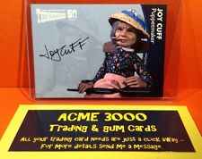 Thunderbirds 50 Years Unstoppable Joy Cuff Puppetmaker Autograph Card JC