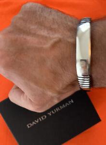 DAVID YURMAN Titanium Cuff Bracelet GREAT Condition !!!