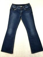 Silver Jeans Suki Womens Size 30X31 Distressed Boot Cut Mid Rise