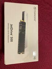 Transcend Jetdrive 500 TS480GJDM500 SSD Macbook Air A1370 A1369 480GB 2010 2011