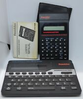 Franklin Wordmaster Deluxe Computer Merriam Webster WM-1055A WM-1200