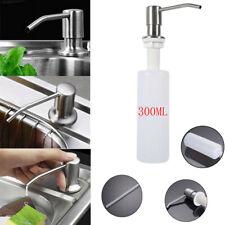 Stainless Steel 300ML*1 Soap Dispenser Kitchen Sink Soap Hand Liquid Pump Bottle