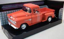 Motormax 1/24,American Muscle, Chevy Stepside 1955 - Orange