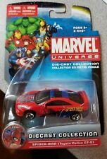 Marvel Universe Spider-Man Diecast Car Maisto Toyota Celica GT-SJ New